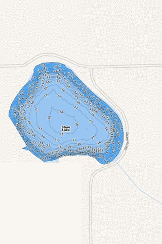 Store Fishing Map - i-Boating App