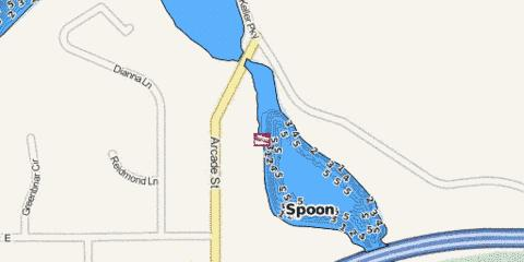 Spoon Fishing Map - i-Boating App
