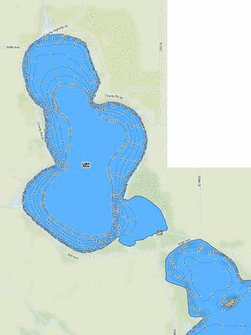 Allie Fishing Map - i-Boating App