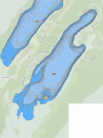 Bassett Fishing Map - i-Boating App