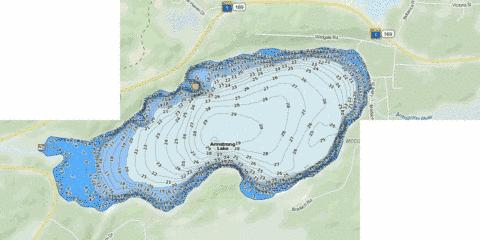 Armstrong Fishing Map - i-Boating App