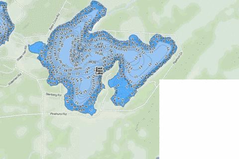 Schubert Fishing Map - i-Boating App