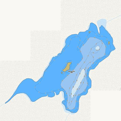 Manganika Fishing Map - i-Boating App
