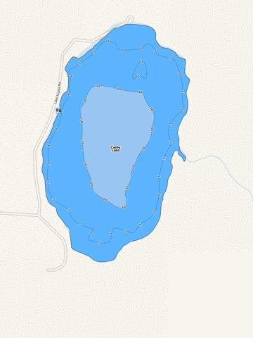 Carey Fishing Map - i-Boating App