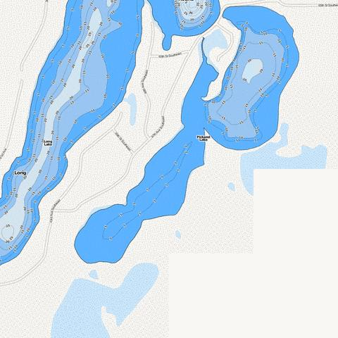 Pickerel Fishing Map - i-Boating App