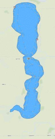Clear Fishing Map - i-Boating App