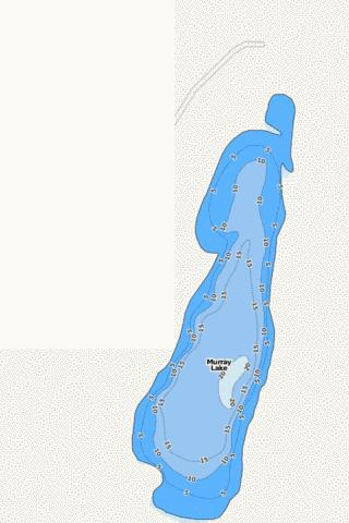 Murray Fishing Map - i-Boating App