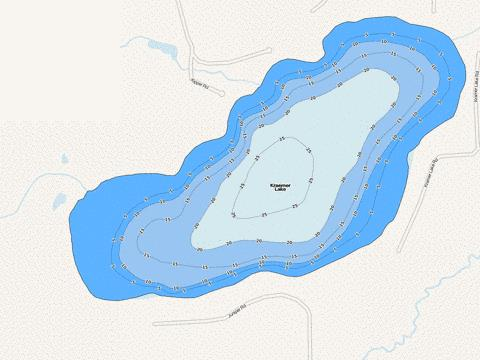 Kraemer Fishing Map - i-Boating App