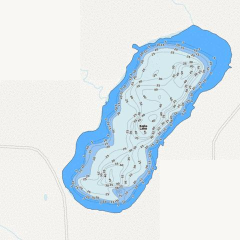 Kalla Fishing Map - i-Boating App