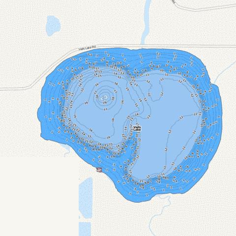 Vails Fishing Map - i-Boating App