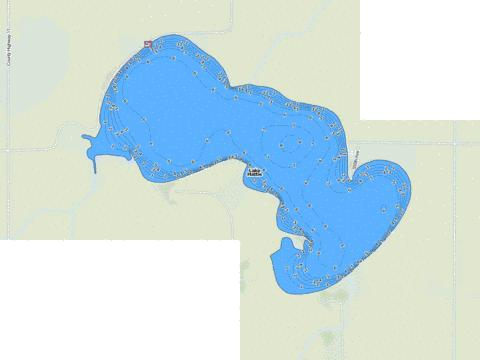 Hattie Fishing Map - i-Boating App