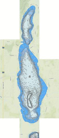 Big Swan Fishing Map - i-Boating App