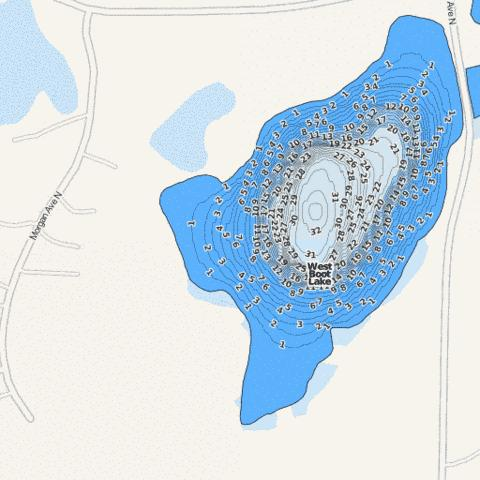 West Boot Fishing Map - i-Boating App