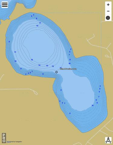 South School Section Fishing Map - i-Boating App