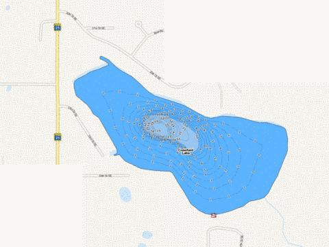 Crawford Fishing Map - i-Boating App