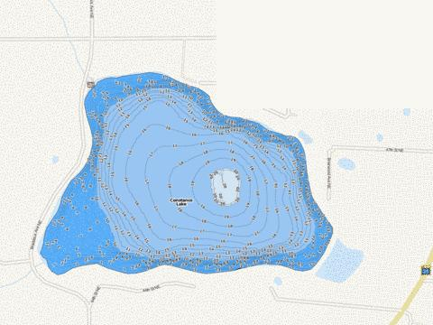 Constance Fishing Map - i-Boating App