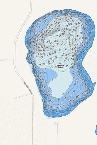 Bertram Fishing Map - i-Boating App
