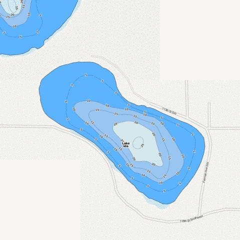 Ida Fishing Map - i-Boating App