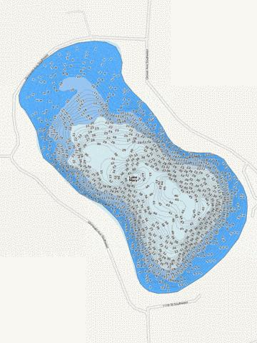 Mary Fishing Map - i-Boating App