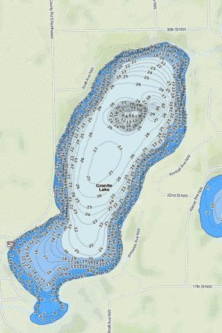 Granite Fishing Map - i-Boating App