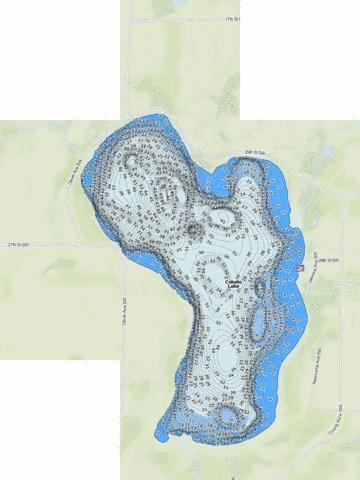 Cokato Fishing Map - i-Boating App