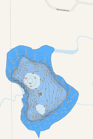 Scott Fishing Map - i-Boating App