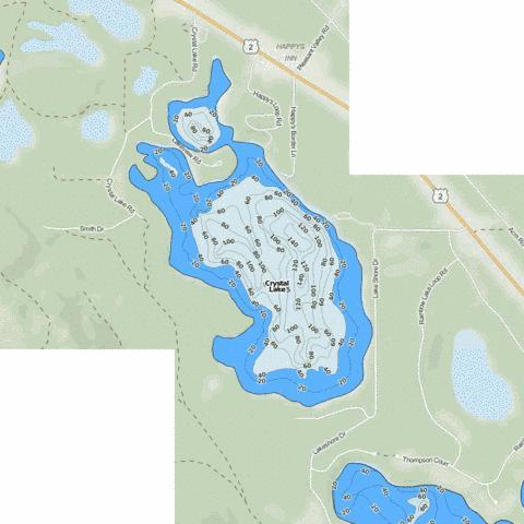 Lavon lake fishing map us mt 00785990 nautical for Lake lavon fishing