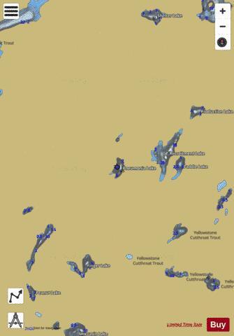 Pneumonia Lake Fishing Map USMTmtfwpmt - Pneumonia us map
