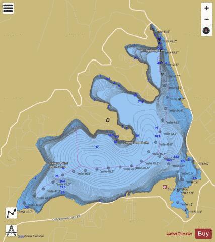 Georgetown lake fishing map us mt mtfwp 1132915461814 for Lake georgetown fishing