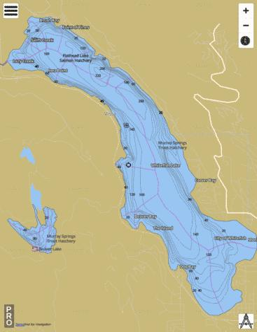 Whitefish lake fishing map us mt mtfwp 1143792484558 mt for Whitefish montana fishing