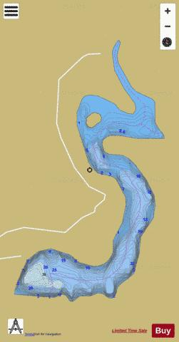 Olson Dam (Willy's Dam) Fishing Map - i-Boating App