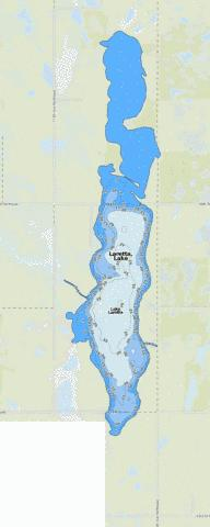 Laretta, Lake Fishing Map - i-Boating App