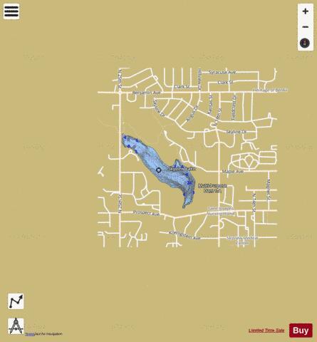 Skyview Lake (Fishing Map : US_NE_01880502) | Nautical