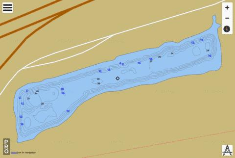 Bassway Strip WMA Fishing Map - i-Boating App