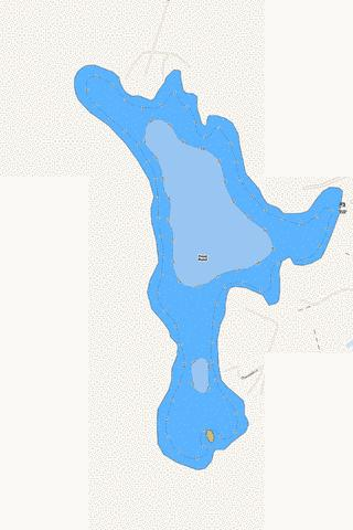 Frost Pond Fishing Map - i-Boating App