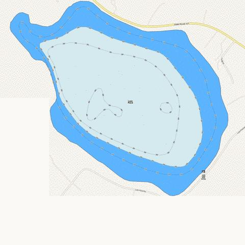 Loon Pond Fishing Map - i-Boating App
