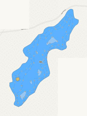 Piper Pond Fishing Map - i-Boating App