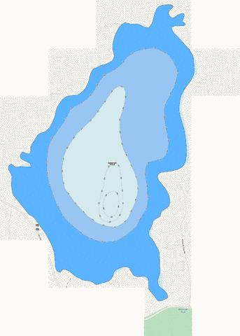 Reservoir Pond Fishing Map - i-Boating App