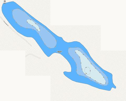 Spectacle Pond Fishing Map - i-Boating App
