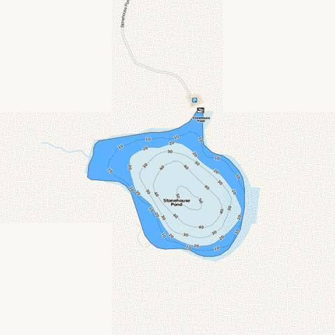 Stonehouse Pond Fishing Map - i-Boating App