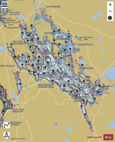 lake winnipesaukee fishing map Lake Winnipesaukee Fishing Map Us Nh 00870958 Nautical lake winnipesaukee fishing map