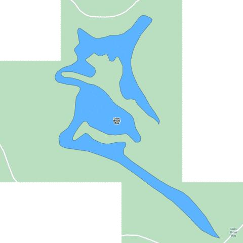 Coon Brook Bog Fishing Map - i-Boating App