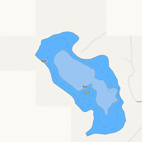 Barville Pond Fishing Map - i-Boating App