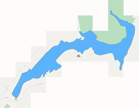 EAST INLET Fishing Map - i-Boating App