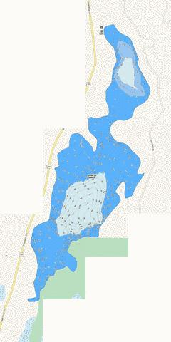 PURITY LAKE Fishing Map - i-Boating App