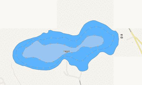 GREENWOOD POND Fishing Map - i-Boating App