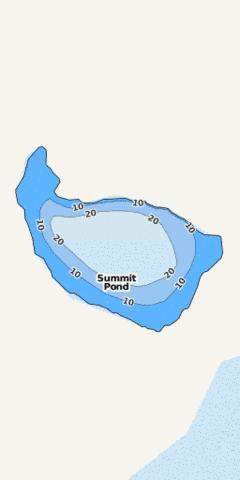 Summit Pond Fishing Map - i-Boating App
