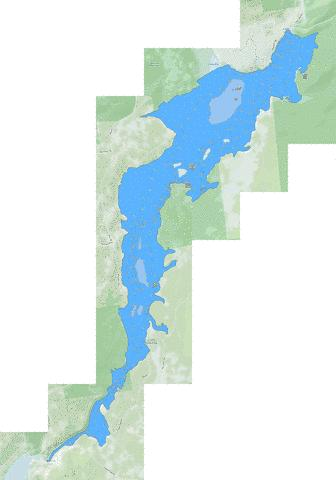 Union Falls Flow Fishing Map - i-Boating App