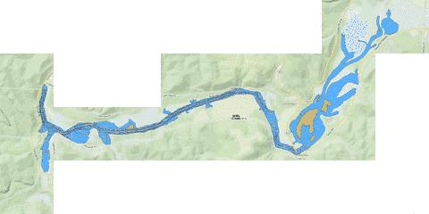 Wills Creek Fishing Map - i-Boating App