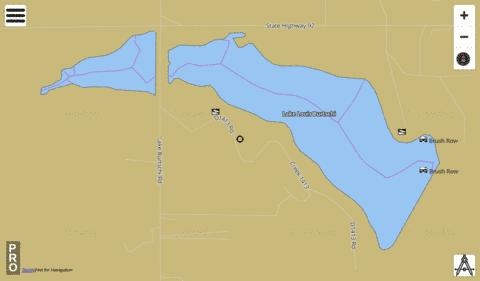 Burtschi Fishing Map - i-Boating App
